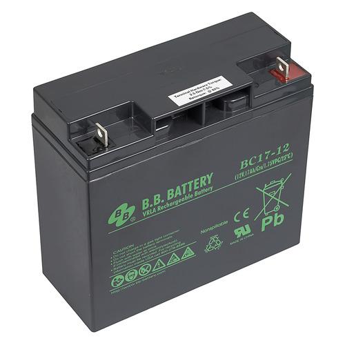 Аккумуляторная батарея для ИБП BB BC 17-12 12В, 17Ач BC 17-12 по цене 4 520