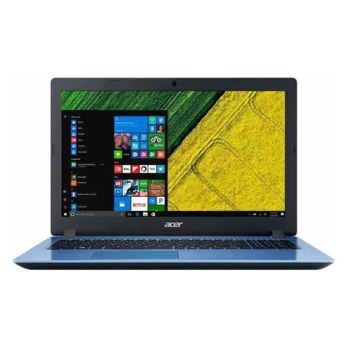 "Ноутбук ACER Aspire A315-51-54PD, 15.6"", Intel Core i5 7200U 2.5ГГц, 4Гб, 128Гб SSD, Intel HD Graphics 620, Windows 10 Home, NX.GS6ER.004, синий цена"