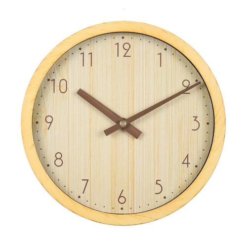 Настенные часы БЮРОКРАТ Wood WALLC-R60P, аналоговые, бежевый
