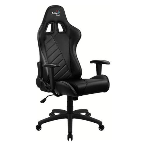 Кресло игровое Aerocool AС110 AIR, на колесиках, ткань дышащая, черный [aс110 black]
