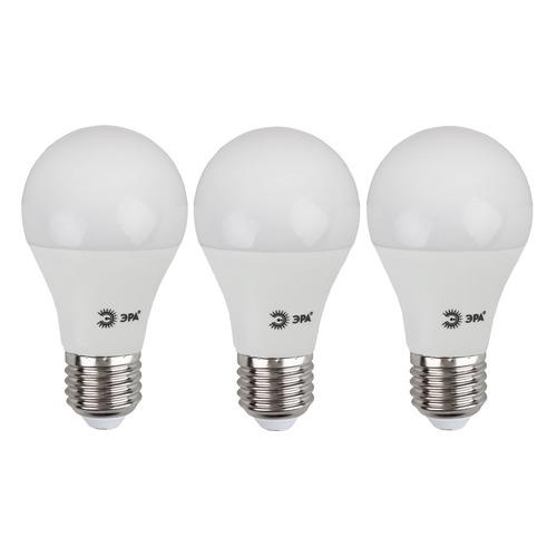 Упаковка ламп LED ЭРА E27, груша, 12Вт, 4000К, белый нейтральный, А60-12W-840-E27, 3 шт. [б0030027] А60-12W-840-E27 по цене 220