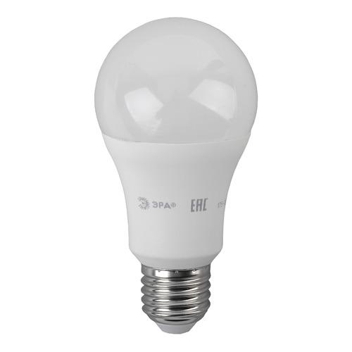 Лампа ЭРА A60-16W-840-E27, 16Вт, 1280lm, 25000ч, 4000К, E27, 3 шт. [б0031707] упаковка светодиодных ламп 3 шт эра б0031705 e27 a60 16вт
