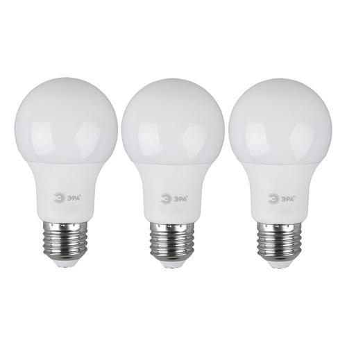 Упаковка ламп LED ЭРА E27, груша, 11Вт, 6000К, белый холодный, A60-11W-860-E27, 3 шт. [б0031394] A60-11W-860-E27 по цене 170