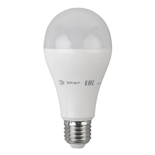 Упаковка ламп LED ЭРА E27, груша, 19Вт, 2700К, белый теплый, A65-19W-827-E27, 3 шт. [б0031702] A65-19W-827-E27 по цене 330