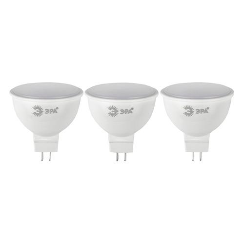 Лампа ЭРА MR16-10W-840-GU5.3, 10Вт, 800lm, 30000ч, 4000К, GU5.3, 3 шт. [б0032996]