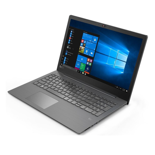 Ноутбук LENOVO V330-15IKB, 15.6, Intel Core i3 7130U 2.7ГГц, 8Гб, 256Гб SSD, Intel HD Graphics 620, DVD-RW, Windows 10 Professional, 81AXA070RU, темно-серый