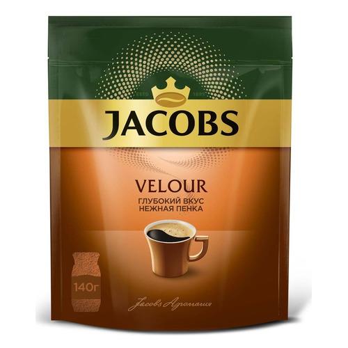 цена Кофе растворимый JACOBS MONARCH Velour, 140грамм [8051495] онлайн в 2017 году