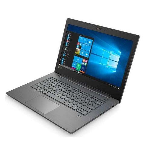 Ноутбук LENOVO V330-14ARR, 14, AMD Ryzen 5 2500U 2.0ГГц, 4Гб, 128Гб SSD, AMD Radeon Vega 8, Windows 10 Professional, 81B1000LRU, темно-серый ноутбук hp 14 cm0015ur amd ryzen 5 2500u 2000 mhz 14 0 1366x768 8192mb 128gb hdd dvd нет amd radeon vega 8 wifi windows 10 home