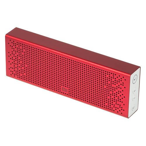Портативная колонка XIAOMI Mi Bluetooth Speaker, 6Вт, красный [qbh4105gl] колонка xiaomi mi outdoor bluetooth speaker black xmyx02jy