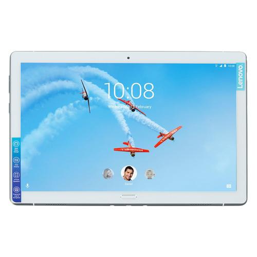 Планшет LENOVO Tab P10 TB-X705L, 4GB, 64GB, 3G, 4G, Android 8.1 белый [za450047ru]