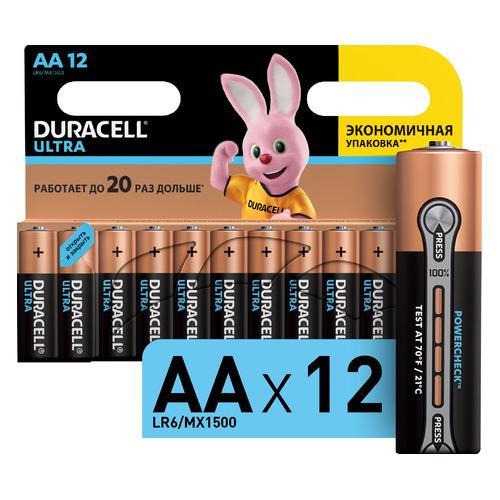 цена на AA Батарейка DURACELL Ultra LR6-12BL MX1500, 12 шт.