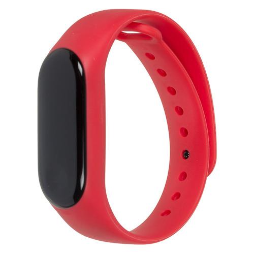 Фото - Смарт-браслет SMARTERRA FitMaster Color, 0.96, черный / красный [smft-c01r] фитнес браслет smarterra фитнес трекер fitmaster 4 ips красный