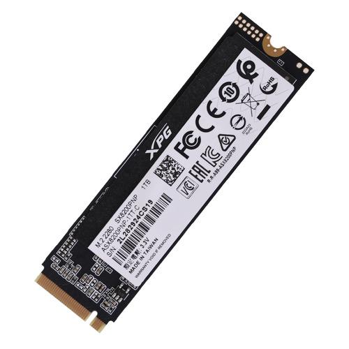 купить SSD накопитель A-DATA XPG SX8200 Pro ASX8200PNP-1TT-C 1Тб, M.2 2280, PCI-E x4, NVMe дешево