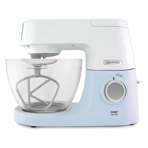 Кухонная машина KENWOOD Chef Sense KVC5100B, голубой / белый [0w20011275] кухонная машина kenwood kvl8300s