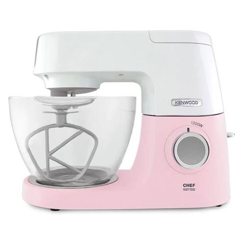 Кухонная машина KENWOOD Chef Sense KVC5100P, розовый / белый [0w20011272] кухонная машина kenwood kvl8300s