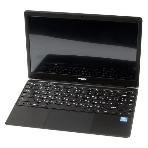 цена на Ноутбук DIGMA EVE 305, 13.3, IPS, Intel Celeron N3350 1.1ГГц, 4Гб, 32Гб SSD, Intel HD Graphics 400, Windows 10 Home, ES3033EW, черный/серебристый