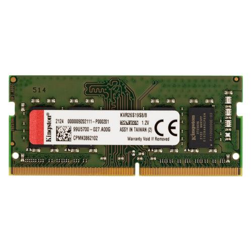 Модуль памяти KINGSTON VALUERAM KVR26S19S8/8 DDR4 - 8ГБ 2666, SO-DIMM, Ret
