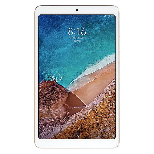 Планшет XIAOMI Mi Pad 4 4GB, 64GB, Android 8.1 золотистый cubot gt72 dual core android 4 4 wcdma bar phone w 4 0 ips wi fi 4gb rom white