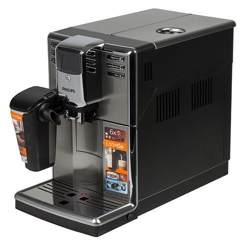 Кофемашина PHILIPS Series 5000 EP5035/10, серебристый/черный цена и фото