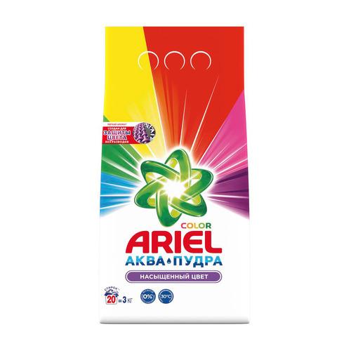 Фото - Стиральный порошок ARIEL Color, автомат, 3кг стиральный порошок ariel белая роза для ручной стирки 450 г