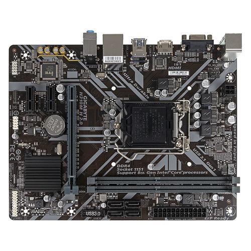 Материнская плата GIGABYTE H310M H 2.0, LGA 1151v2, Intel H310, mATX, Ret цена и фото