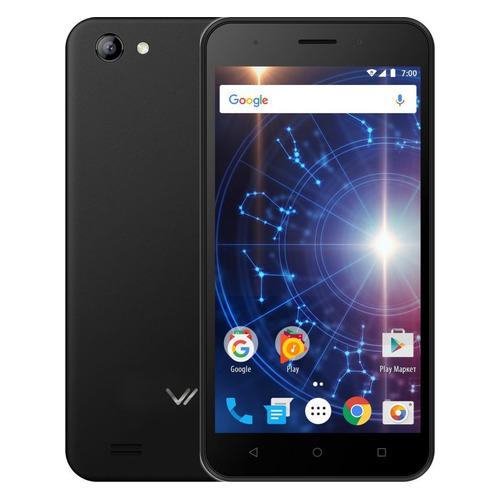 Смартфон Vertex Impress Luck 8Gb, черный смартфон vertex impress luck nfc lte blue