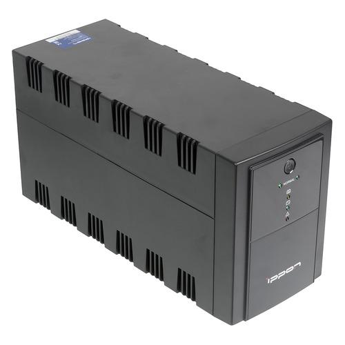 Фото - ИБП IPPON Back Basic 1500 Euro, 1500ВA [1108022] ибп 3cott 400 cml compact line 400va 240w 2 euro