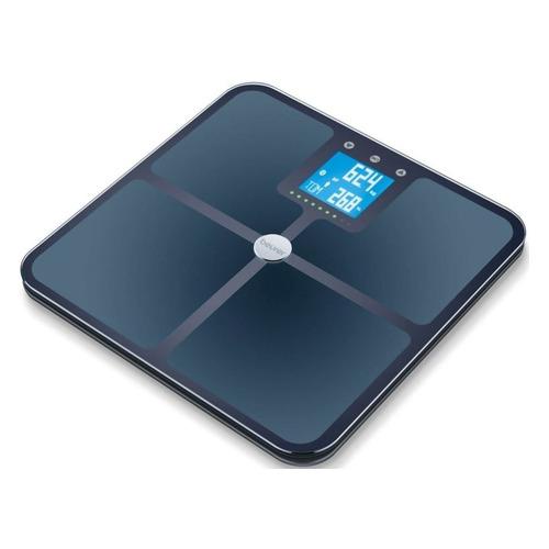 Напольные весы Beurer BF950, до 180кг, цвет: черный [749.12] весы напольные электронные beurer bf950 макс 180кг белый