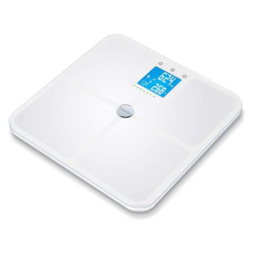 Напольные весы BEURER BF950, до 180кг, цвет: белый [749.11] BF950 по цене 3 540