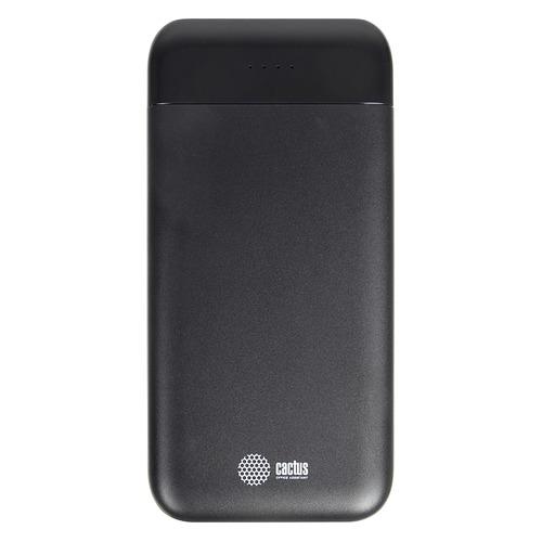 Внешний аккумулятор (Power Bank) CACTUS CS-PBFSFL-10000, 10000мAч, графит цена и фото