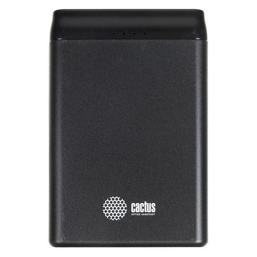 Внешний аккумулятор (Power Bank) CACTUS CS-PBFSST-5000, 5000мAч, графит цена и фото