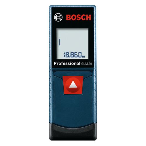 Лазерный дальномер BOSCH GLM 20 [0601072e00] лазерный дальномер bosch glm 40