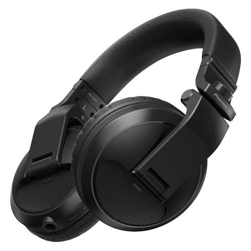 Наушники PIONEER HDJ-X5BT, Bluetooth, накладные, черный [hdj-x5bt-k] наушники pioneer hdj 1500 k накладные черный проводные