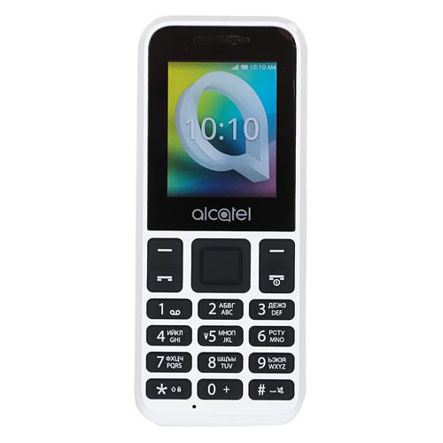 Мобильный телефон ALCATEL 1066D, белый цена и фото