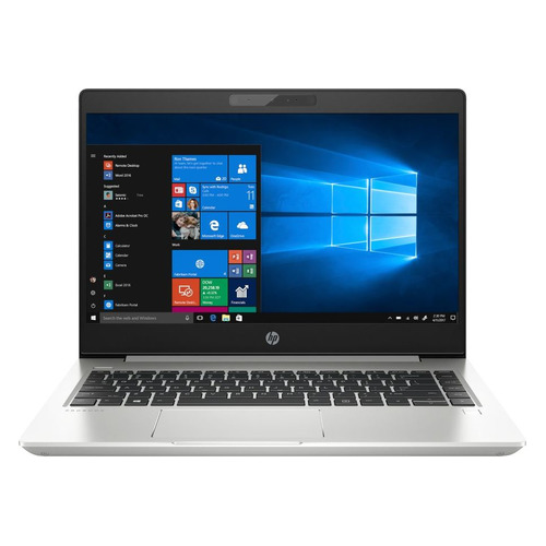 Ноутбук HP ProBook 440 G6, 14, Intel Core i7 8565U 1.8ГГц, 8Гб, 256Гб SSD, Intel UHD Graphics 620, Windows 10 Professional, 5PQ21EA, серебристый ноутбук трансформер hp probook x360 440 g1 14 intel core i5 8250u 1 6ггц 8гб 256гб ssd intel uhd graphics 620 windows 10 professional 4ls89ea серебристый