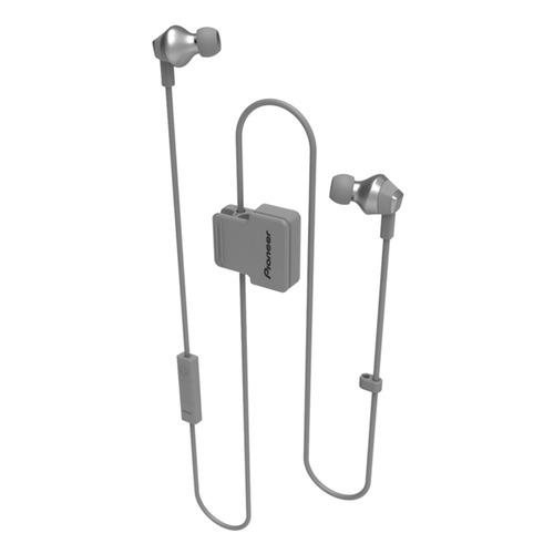 Гарнитура PIONEER SE-CL6BT-H, Bluetooth, вкладыши, серый