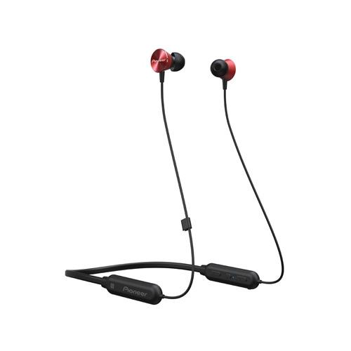 Гарнитура PIONEER SE-QL7BT-R, Bluetooth, вкладыши, красный SE-QL7BT-R по цене 5 554