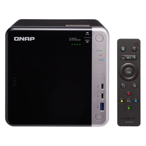 цена на Сетевое хранилище QNAP TS-453BT3-8G, без дисков