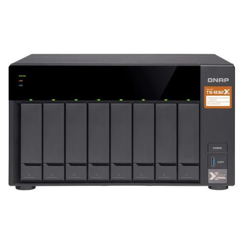цена на Сетевое хранилище QNAP TS-832X-8G, без дисков