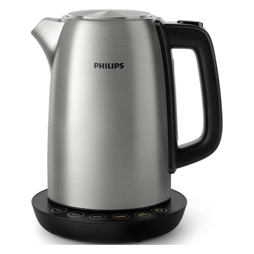 лучшая цена Чайник электрический PHILIPS HD9359, 2200Вт, нержавеющая сталь