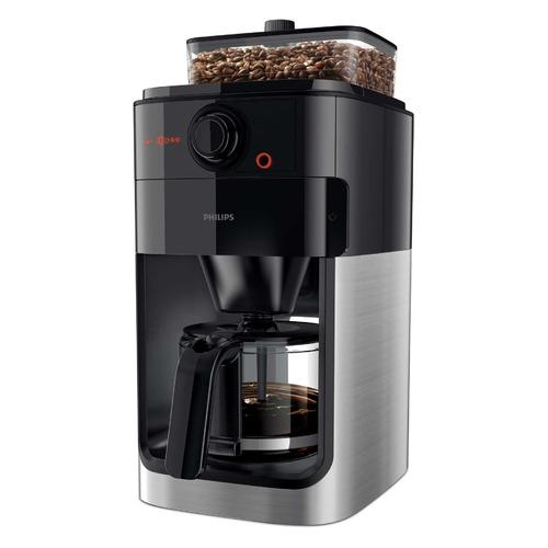 Кофеварка PHILIPS HD7767, капельная, черный / стальной [hd7767/00] цена и фото