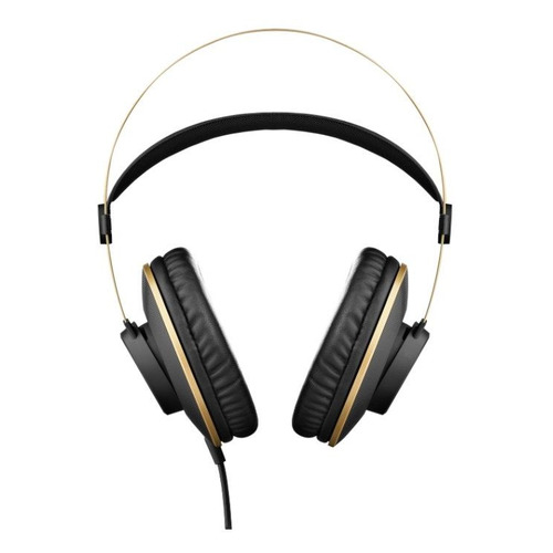Наушники AKG K92, 3.5 мм/6.3 мм, мониторные, черный/золотистый [3169h00030] наушники akg y40 черный