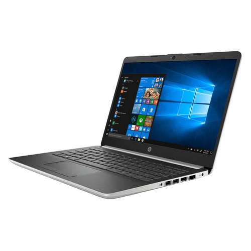 Ноутбук HP 14-cf1000ur, 14, IPS, Intel Core i5 8265U 1.6ГГц, 4Гб, 16Гб Intel Optane, 1000Гб, Intel UHD Graphics 620, Windows 10, 5TA12EA, серебристый