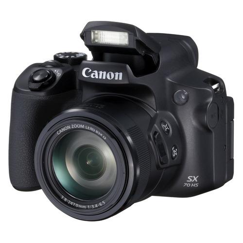 Фото - Цифровой фотоаппарат CANON PowerShot SX70 HS, черный фотоаппарат canon powershot sx740 hs серебристый коричневый