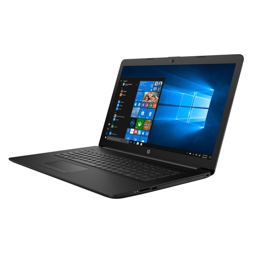 "Ноутбук HP 17-by1004ur, 17.3"", Intel Core i5 8265U 1.6ГГц, 4Гб, 16Гб Intel Optane, 1000Гб, Intel UHD Graphics 620, DVD-RW, Free DOS, 5SX89EA, черный моноблок hp proone 400 g2 intel core i5 6500t 4гб 500гб intel hd graphics 530 dvd rw free dos черный и серебристый [t4r08ea]"