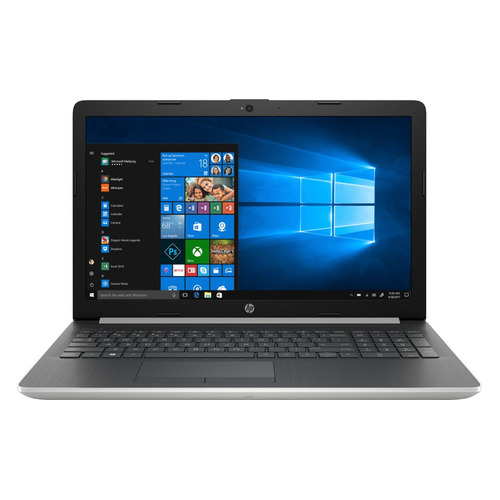 Ноутбук HP 15-da1013ur, 15.6, Intel Core i5 8265U 1.6ГГц, 4Гб, 16Гб Intel Optane, 1000Гб, Intel UHD Graphics 620, Windows 10, 5SW24EA, серебристый