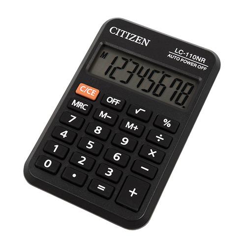 цена на Калькулятор CITIZEN LC-110NR, 8-разрядный, черный