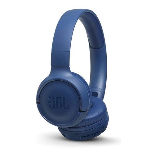 Гарнитура JBL T500BT, Bluetooth, накладные, синий [jblt500btblu] T500BT по цене 2 690