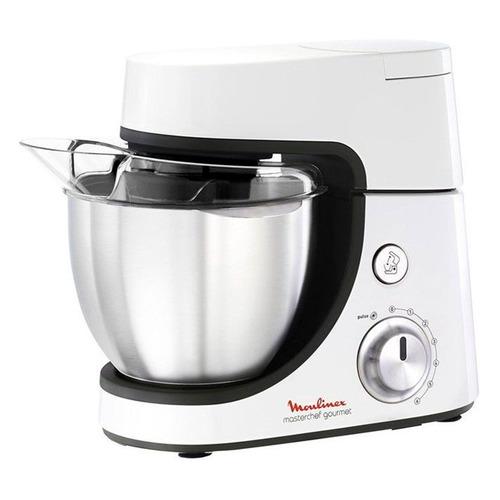 Кухонная машина MOULINEX QA510110, белый [2820510110] кухонная машина kenwood khh326 1000вт 7нас бел