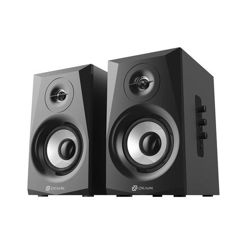 цена на Колонки Bluetooth OKLICK OK-166 BT, 2.0, черный